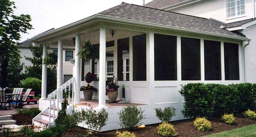 Screened Patio Kits Best Back Porches