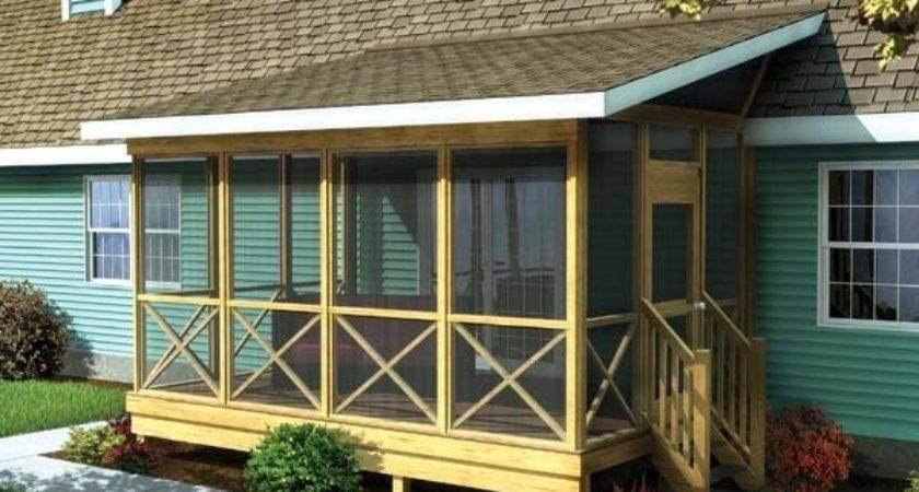 Screened Porch Plans Build Modify