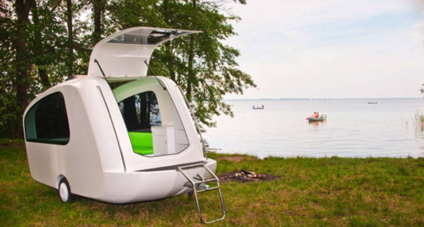 Sealander Camper Can Also Used Boat Home