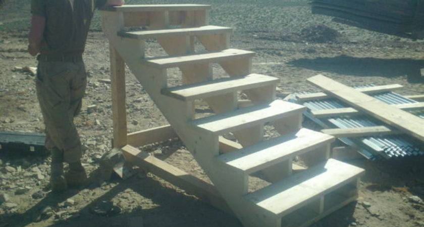 Self Standing Staircase Steps