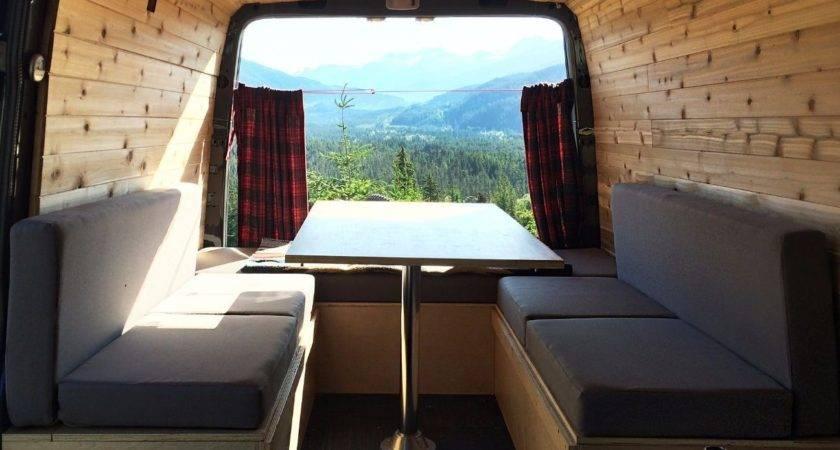 Sew Cushions Camper Van