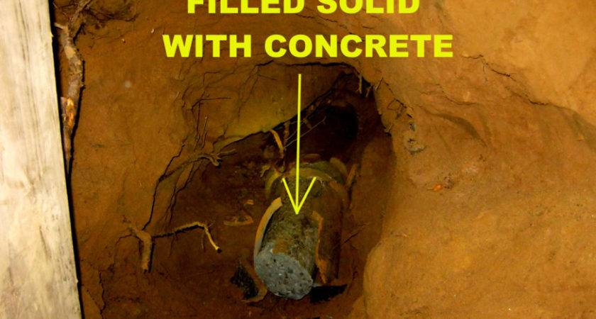 Sewer Line Replacement Needed Builder Breaks