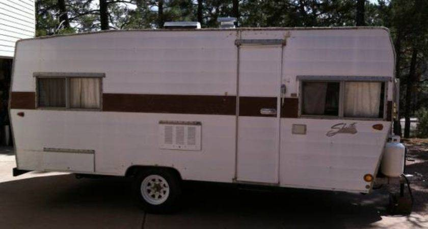 Shasta Travel Trailer Espotted