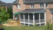 Shed Roof Screened Porch Plans Cor Karenefoley