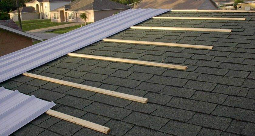 Sheet Metal Roof Over Shingles