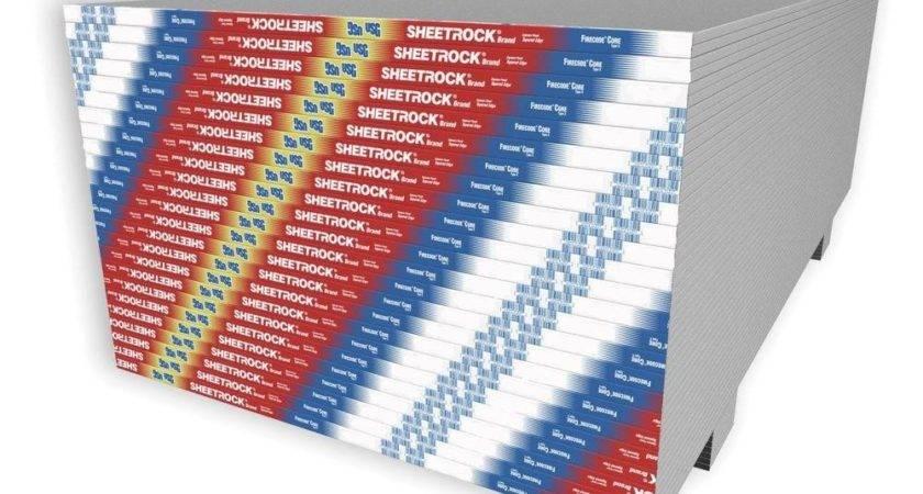 Sheetrock Firecode Core Gypsum