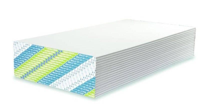 Sheetrock Ultralight Gypsum Board