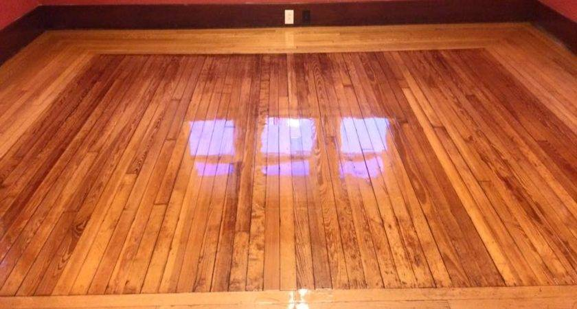 Shiny Hardwood Floors Made Pallets Hardwoods Design