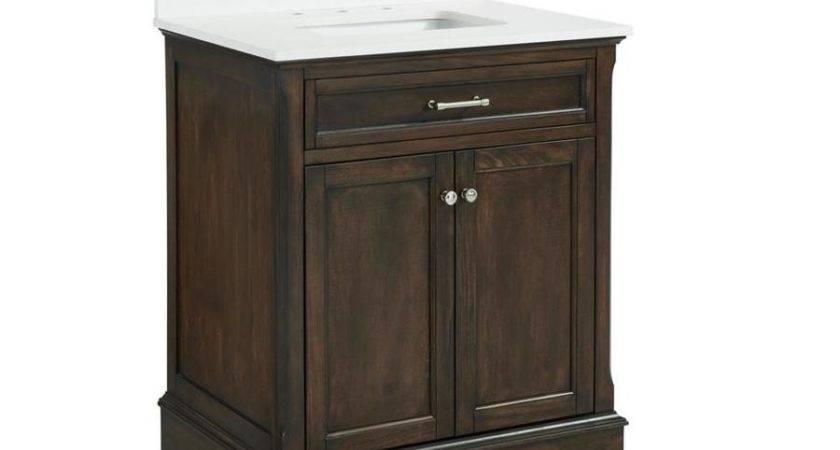 Shop Allen Roth Roveland Mahogany Undermount Single Sink