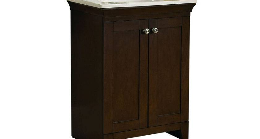 Shop Allen Roth Sycamore Nutmeg Integral Single Sink