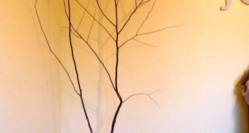 Simple Diy Floor Vase Branches
