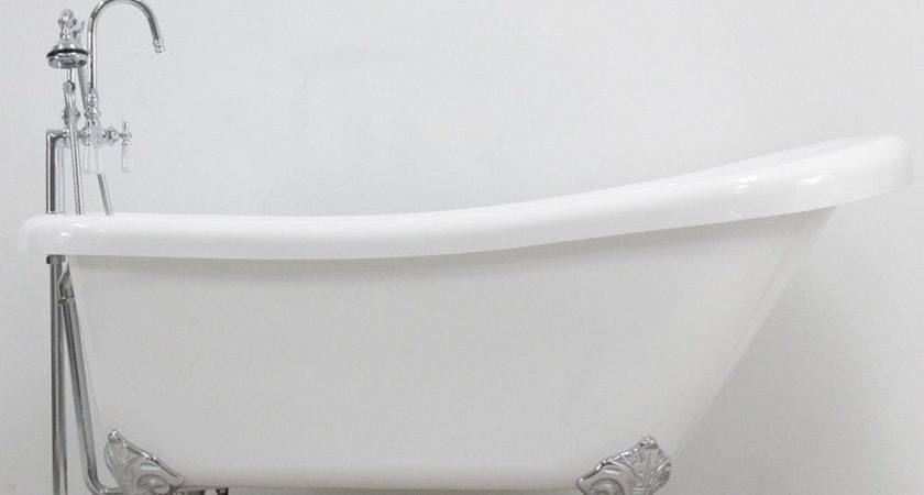Simple Installation Clawfoot Tub Supply Lines