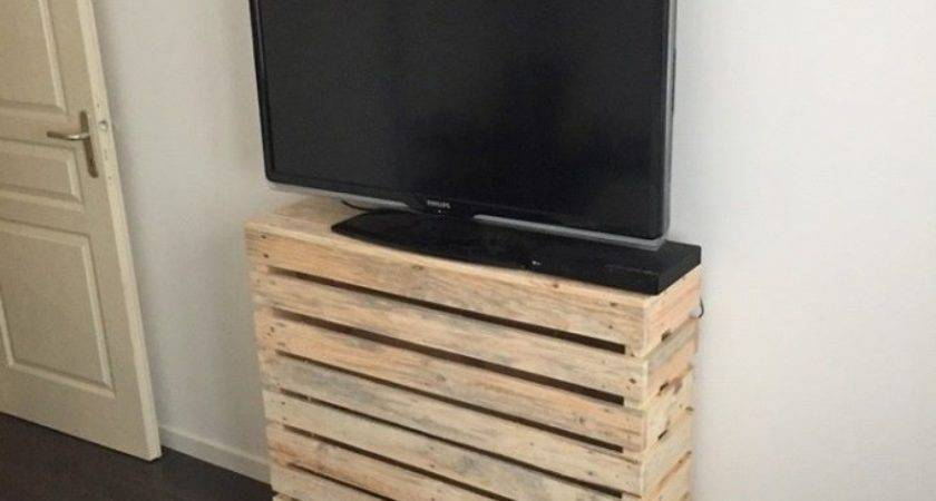 Simple Pallet Stand Idea Ideas Recycled