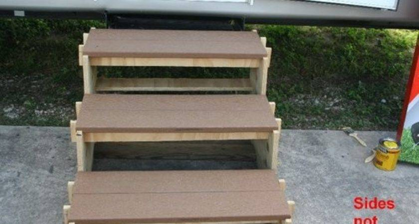 Simple Portable Stairs Easy Year Old Man Can