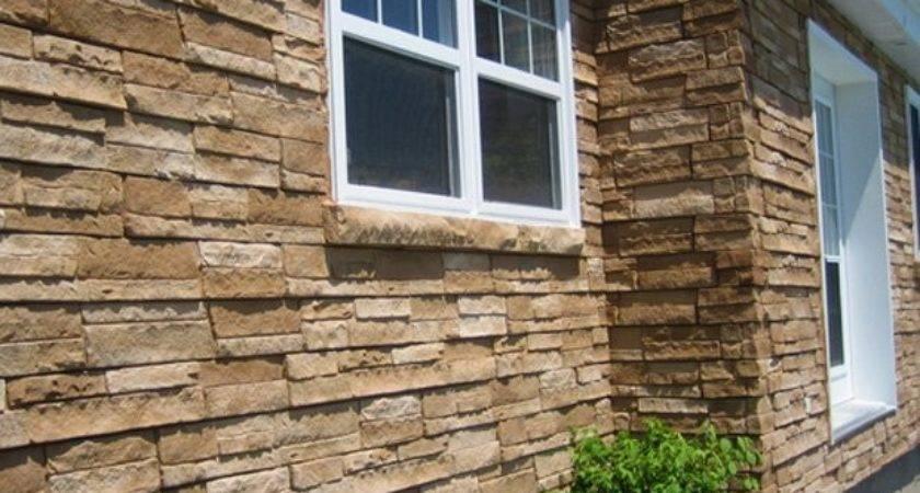 Simulated Stone Siding Panel Vinyl