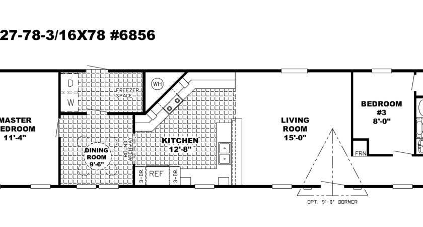 Single Wide Mobile Homes Floor Plans Mesmerizing