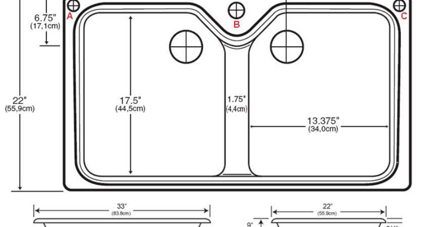 Sinks Standard Kitchen Sink Ideas
