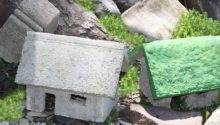 Small Batch Recipe Papercrete Fairy Garden