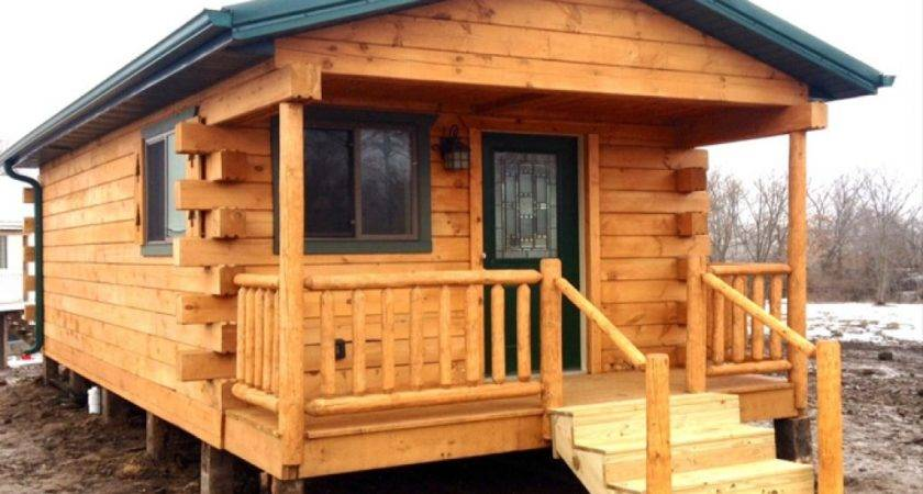 Small Cabin Mobile Homes Rustic