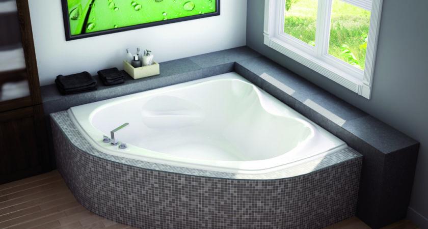 Small Corner Bathtub Definitely Worth Considering