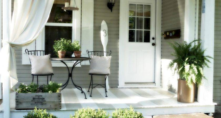 Small Front Porch Decor Jbeedesigns Outdoor Beautiful