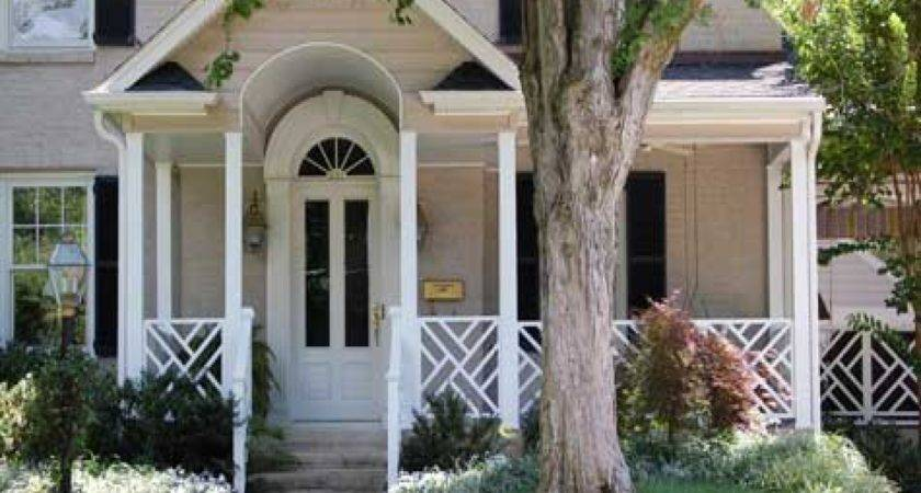 Small Front Porch Railings Posts