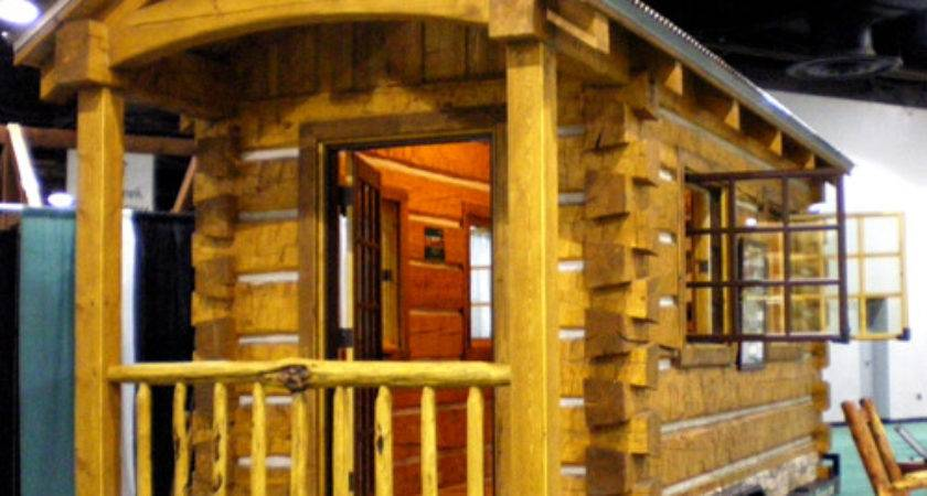Small Log Cabin Mobile Homes