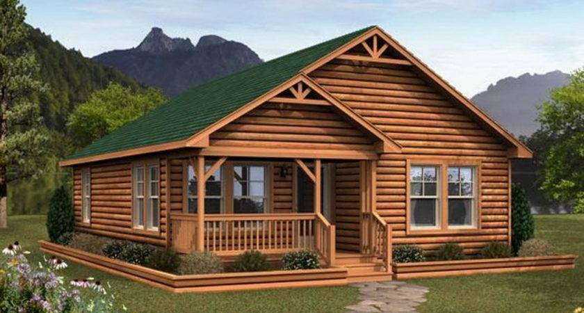 Small Log Cabin Modular Homes Bestofhouse