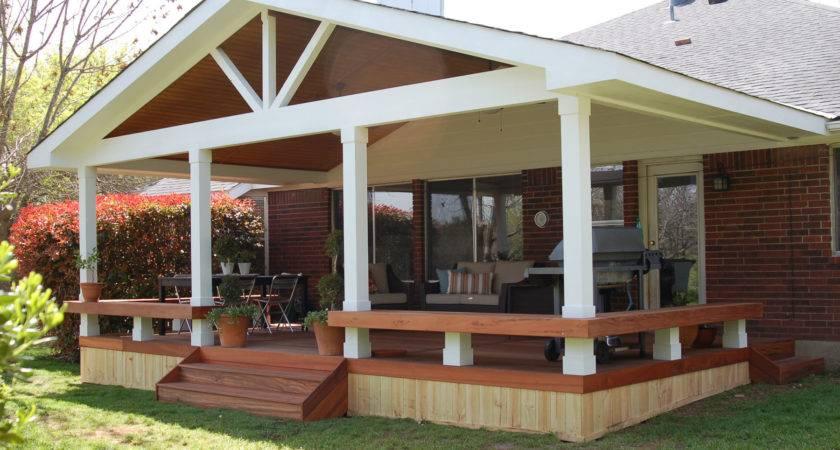Small Patio Decks Deck Covered Porch Design Ideas