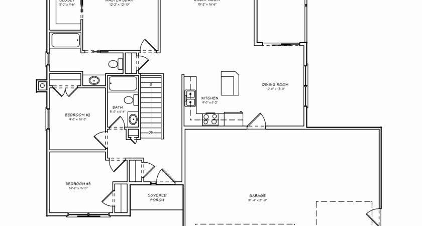 Small Ranch House Plans Awesome Floor