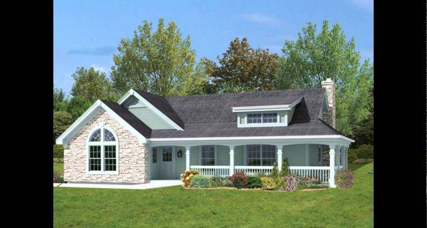 Small Ranch House Plans Wrap Around Porch