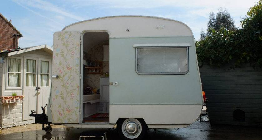 Small Vintage Retro Classic Euro Camper Caravan Ideal
