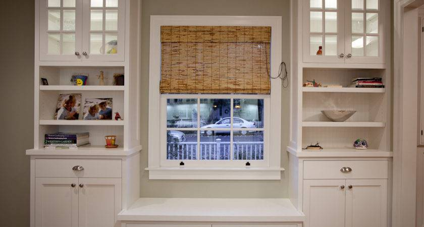 Small Window White Storage Cabinet Shelves Plus
