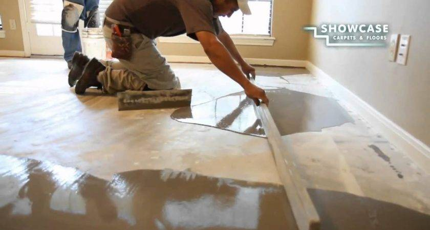 Smoothing Subfloor Youtube