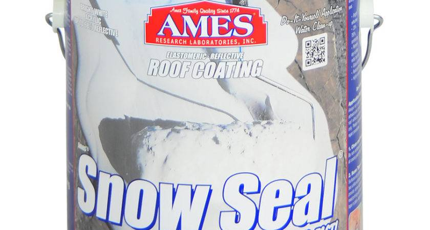 Snow Seal Roof Coating Commercial Grade Waterproofing