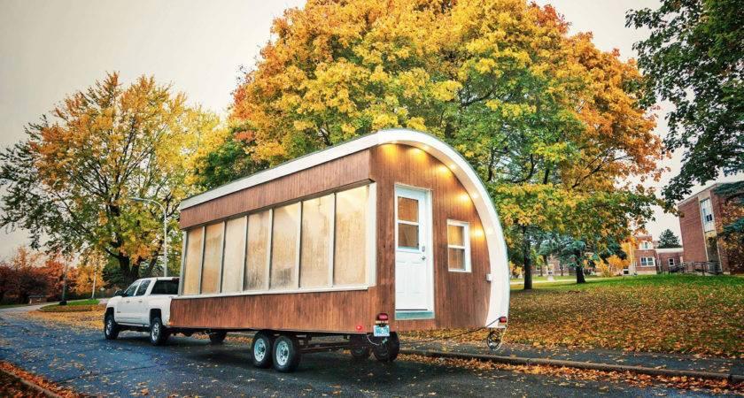 Solar Powered Pod Prototype Tiny House Mobile