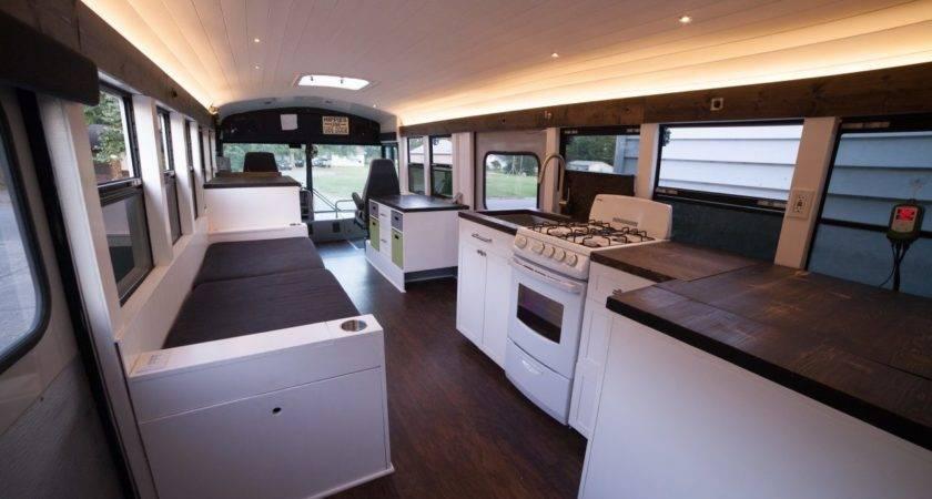 Solar Powered School Bus Home Makes Modern Mobile