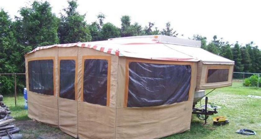 Sold Add Room Bonair Tent Trailer Not