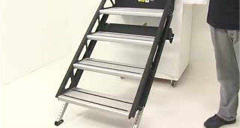Solidstep Manual Fold Down Steps Rvs Wide