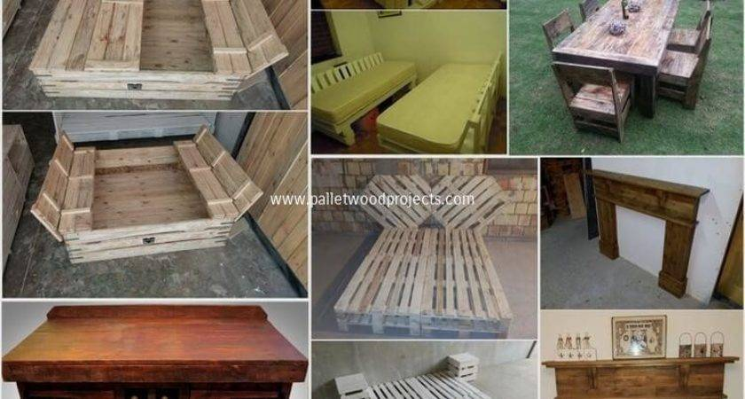 Some Cool Projects Try Used Wood Pallets Pallet