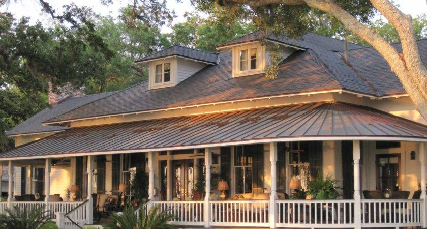 Southern House Plan Wrap Around Porch Plans