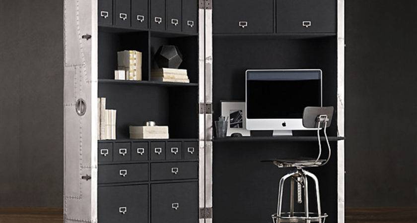 Space Saving Mobile Home Office Takes Inspiration Mid