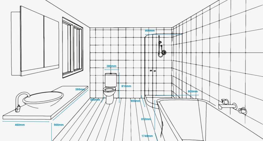 Standard Bathroom Measurements Refresh Renovations