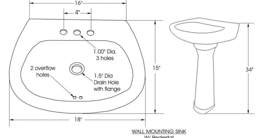 Standard Bathroom Sink Imgkid