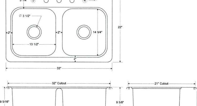 Standard Bathroom Sink Kitchen
