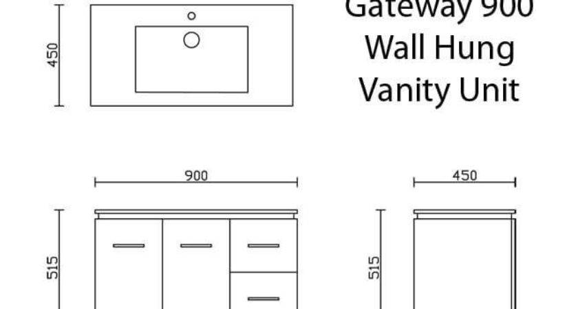 Standard Bathroom Vanity Sizes Australia Decor