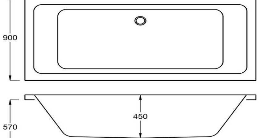 Standard Bathtub Carron Quantum