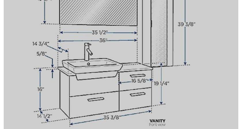 Standard Mirror Sizes Bathrooms Home Design Ideas