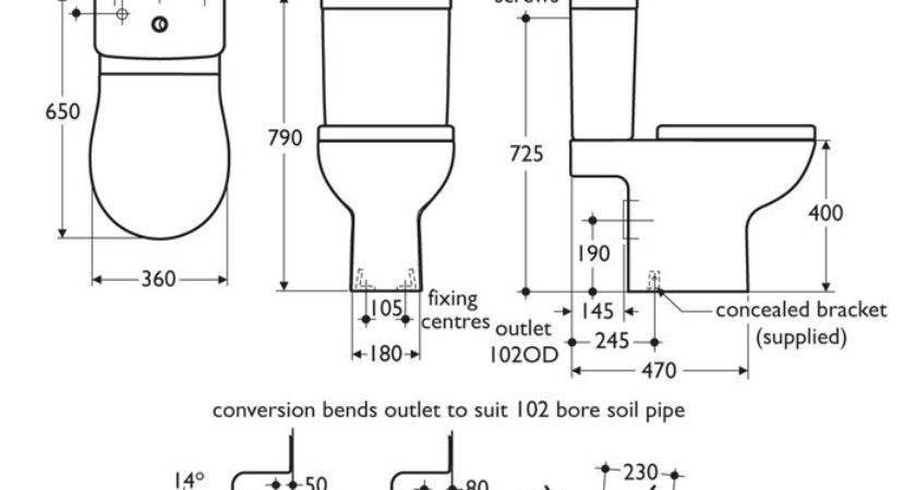 Standard Toilet Pixshark