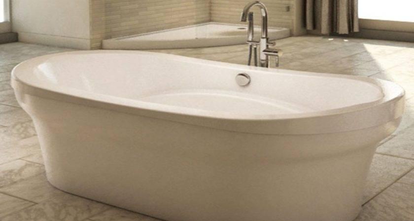 Standing Bath Tub Small Bathrooms Soaking Tubs